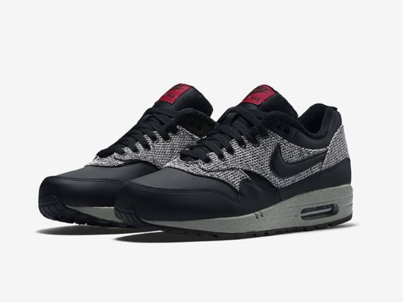 "Nike Air Max 1 Essential ""Cool Grey University Red"""