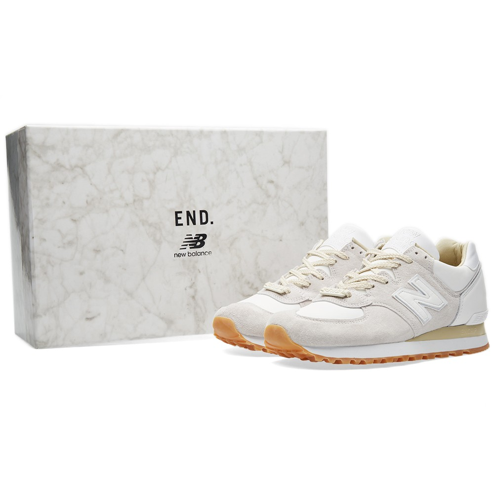 End X New Balance M575end Quot Marble White Quot Sneakerrelease De