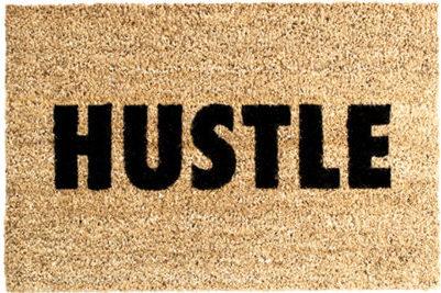 hustle-fußmatte