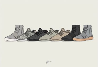 Yeezy Boost Collection Print