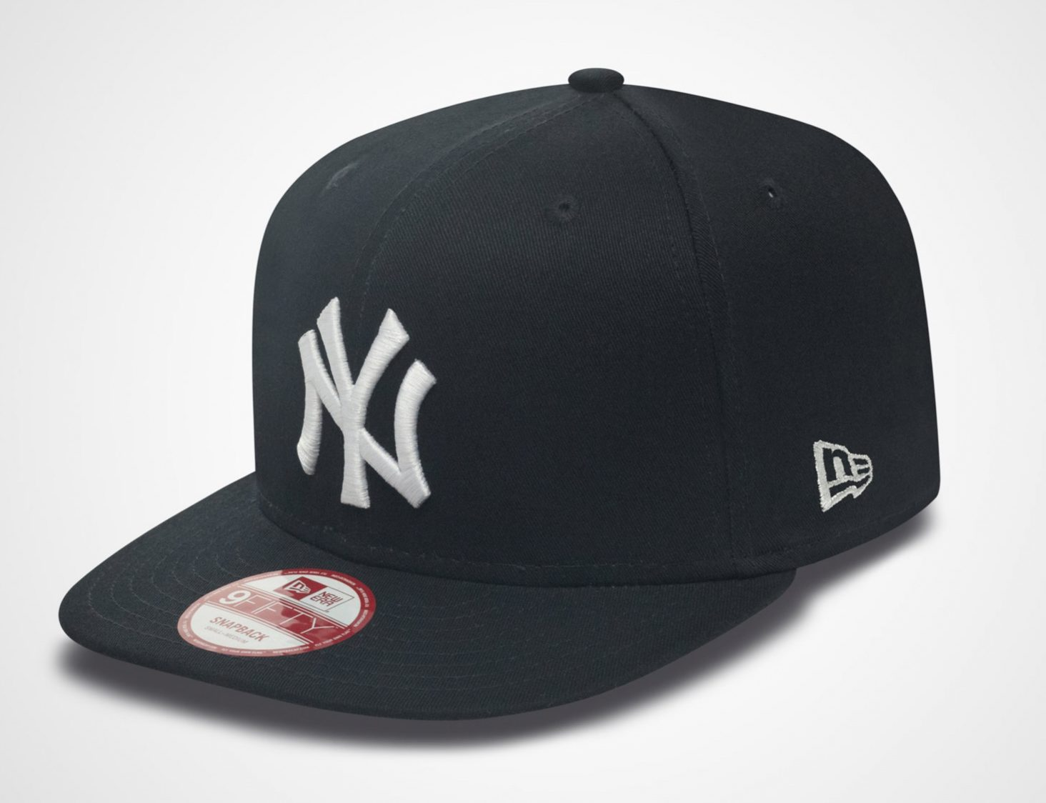 New Era Snapback in Schwarz