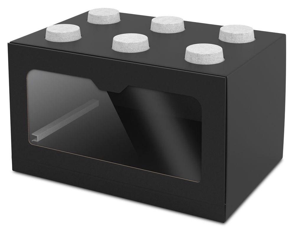 Sneaker Showbox Lego in Schwarz.