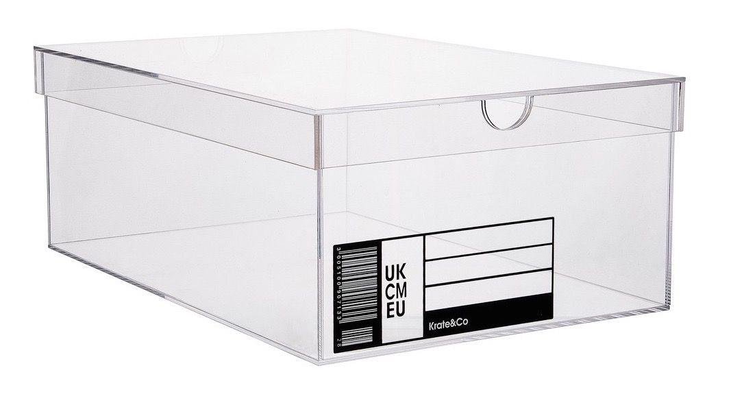 Clear Schoebox von Krate & Co.