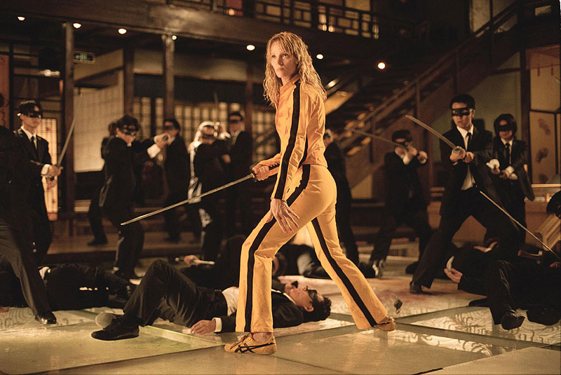 Uma Thurman trägt die Onitsuka Tiger Tai Chi in Kill Bill Vol. 1