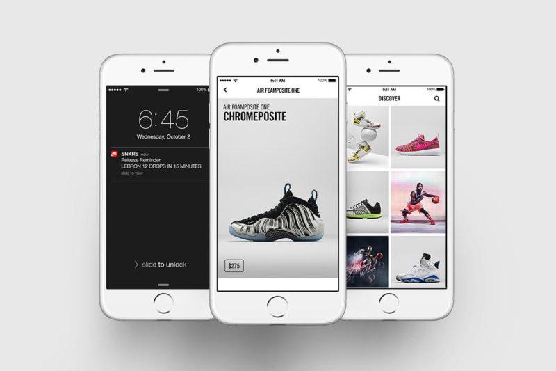 Nike+ SNRKS und Adidas Confirmed App