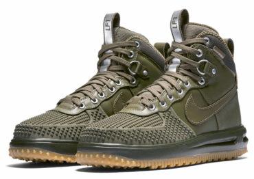 Nike Lunar Force 1 Duckboot olive