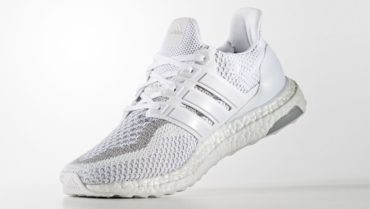 adidas ultra boost white reflective