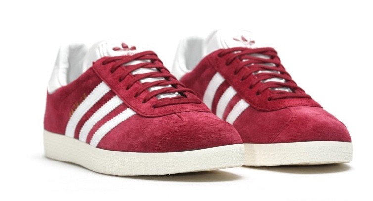 "Adidas Gazelle ""Burgundy"" (S76220)"