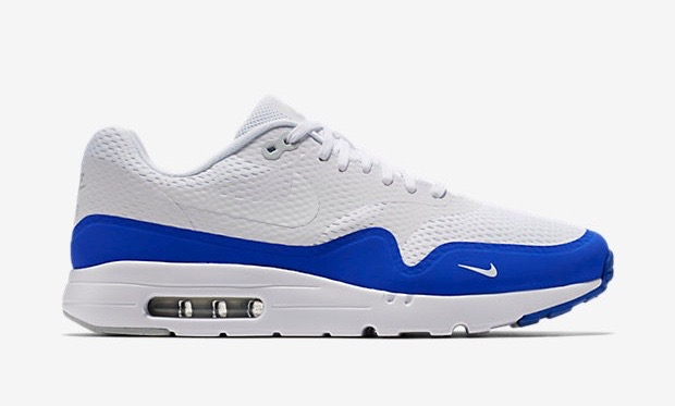 Air Max 1 Ultra Essential - Blau/Weiß (819476-114)