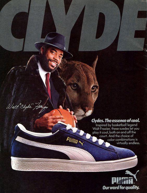 Werbeplakat des Clyde