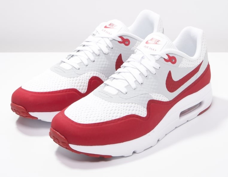 Air Max 1 Ultra Essential - White/Varsity Red/Natural White (NI112B0CN-A11)
