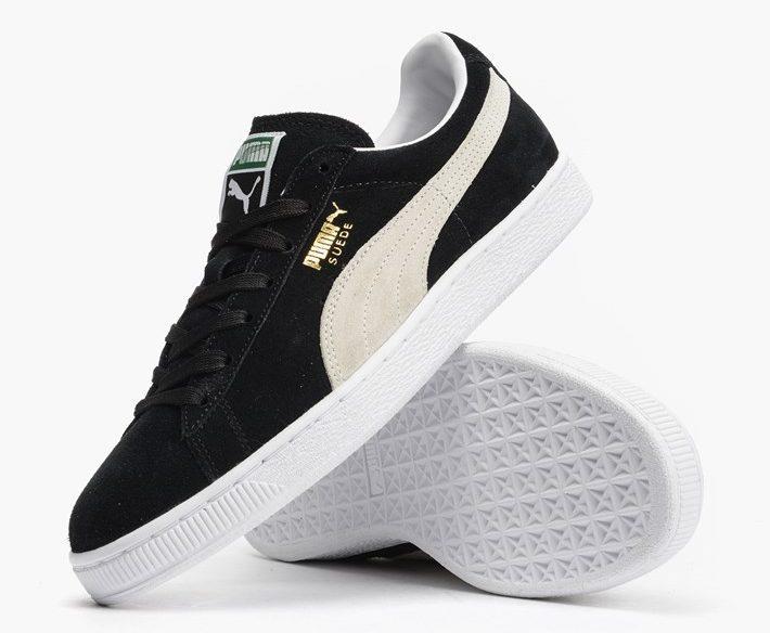 """Puma Suede Classic Eco """"Black-White"""" (352634-03)"""
