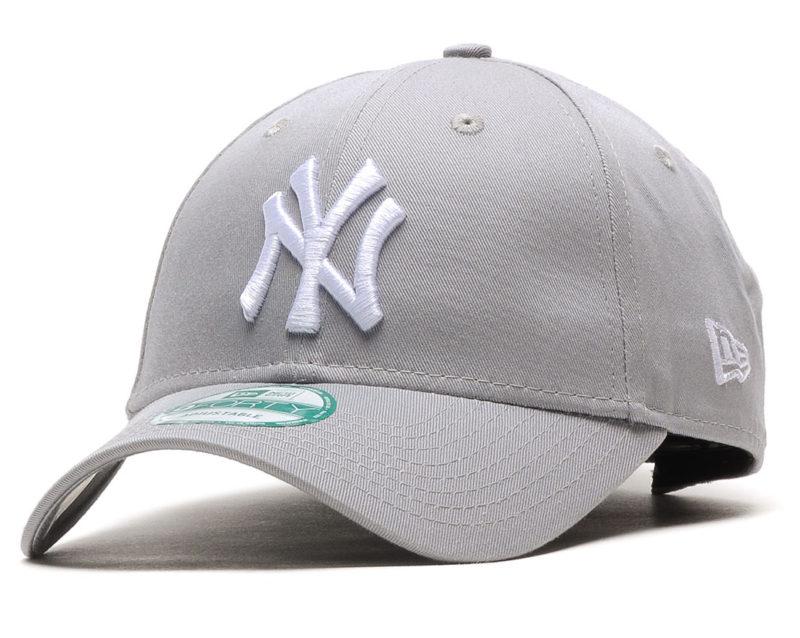 Die klassische Baseball Cap in Grau/Weiß von NEW ERA gibts bei Inflammable im Sale für 15,85€.