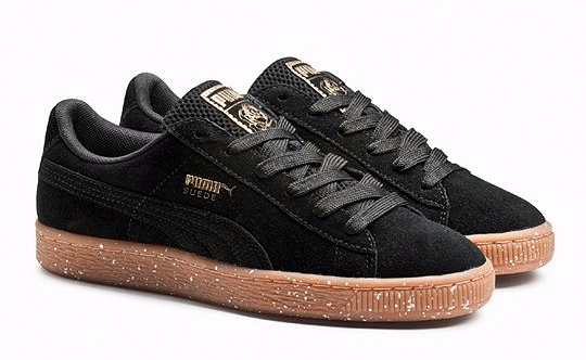 UMA Suede X Careaux in Puma Black