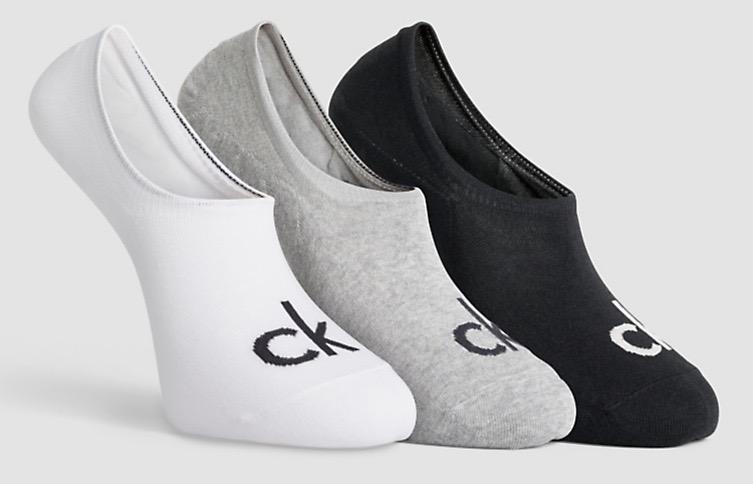 Calvin Klein Logo-Sportsocken