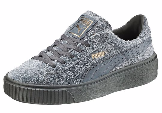 PUMA Suede Elemental in Steel Grey