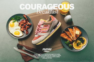 "Saucony x Featue Courageous ""Bacon & Eggs"""
