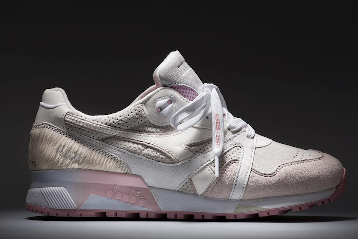 "X-LARGE x 24 Kilates x Diadora N.9000 ""Copito"""