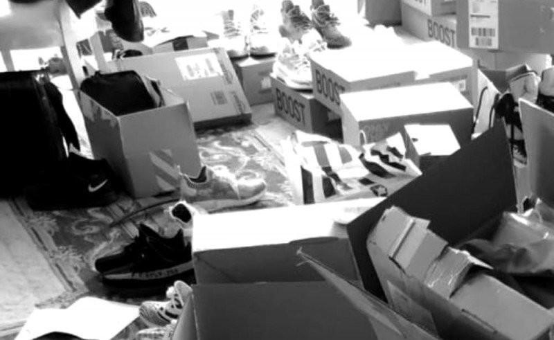 Sneaker Aufbewahrung